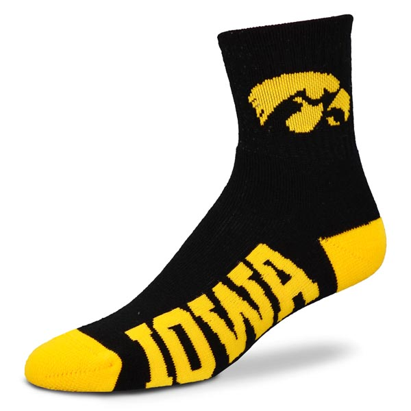 Iowa Hawkeyes Logo Sock