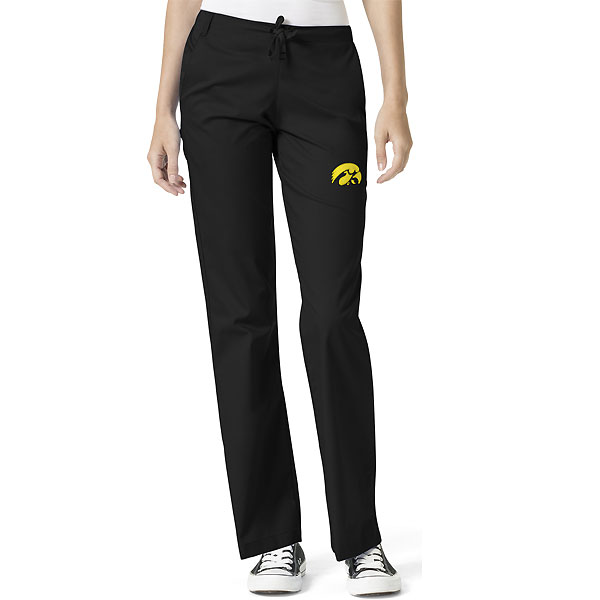 Iowa Hawkeyes Women's Scrub Pants