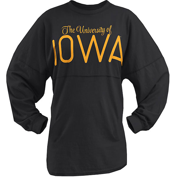 Iowa Hawkeyes Women's University Script Tee