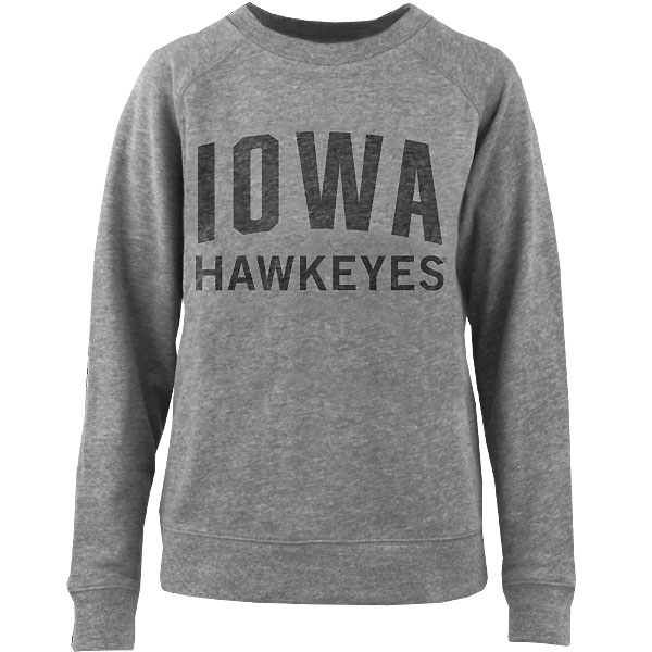 Iowa Hawkeyes Women's Copper French Terry