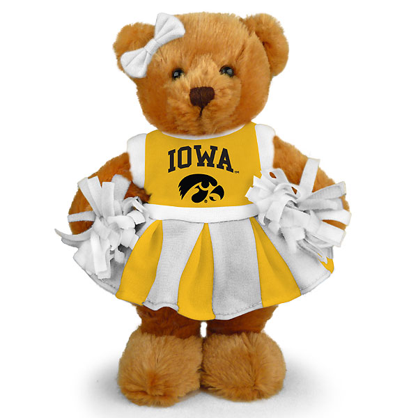 Iowa Hawkeyes Cheer Bear