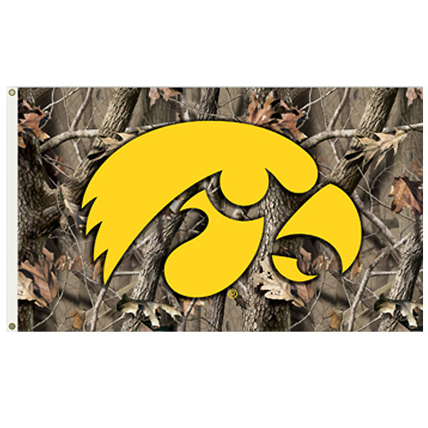 Iowa Hawkeyes 3' x 5' Single Sided Flag