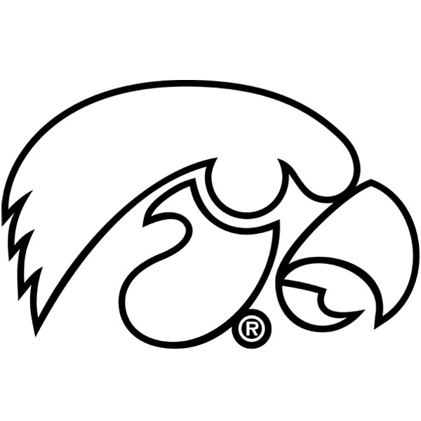 herky the hawkeye coloring pages - photo#10