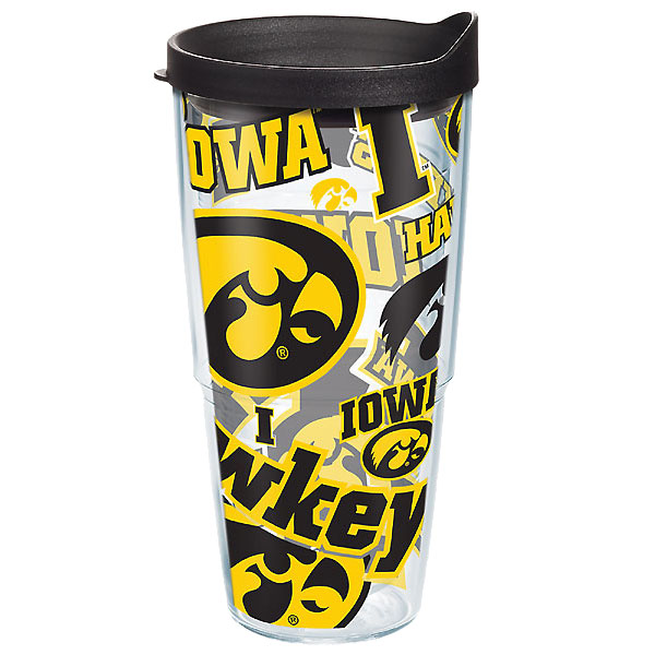 Iowa Hawkeyes All Over Wrap Tumbler