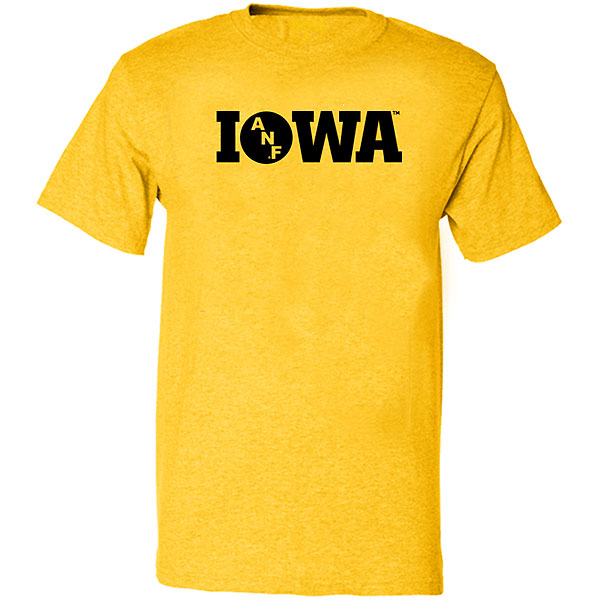 Iowa Hawkeyes ANF Gold Tee