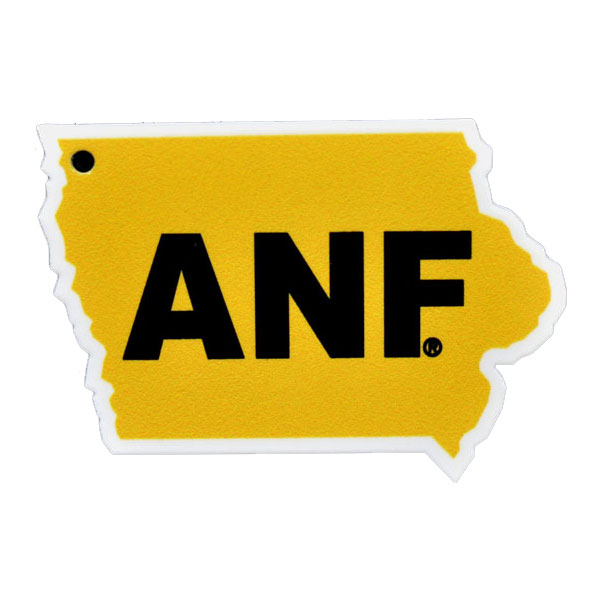 Iowa Hawkeyes ANF State Magnet