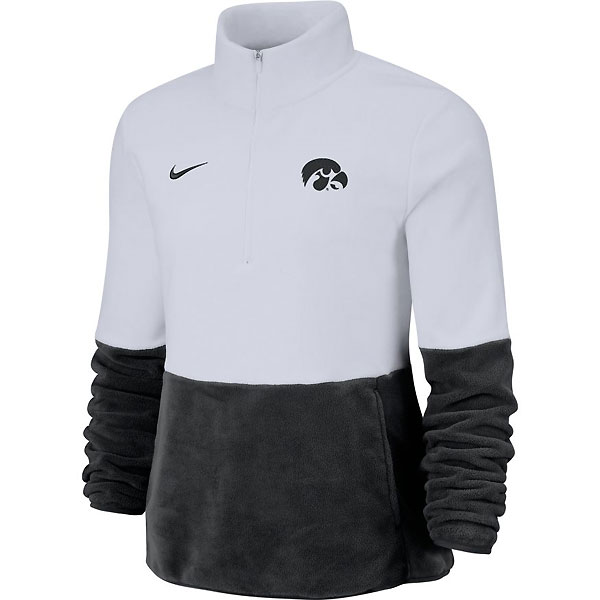 Iowa Hawkeyes Women's Therma White Fleece
