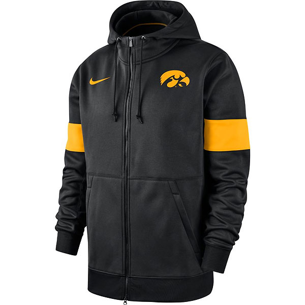 Iowa Hawkeyes Therma Full Zip Hoodie