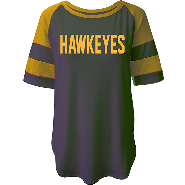Iowa Hawkeyes Women's Avery Stripe Tee