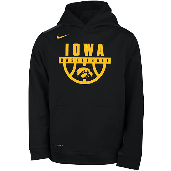 Iowa Hawkeyes Youth Basketball Legend Hoodie
