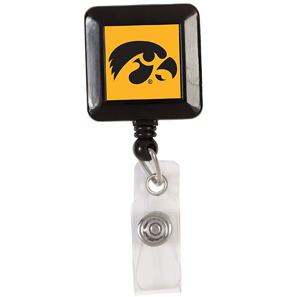 Iowa Hawkeyes Badge Holder
