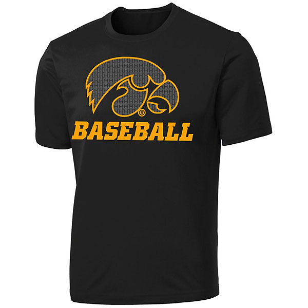 Iowa Hawkeyes Baseball Performance Tee