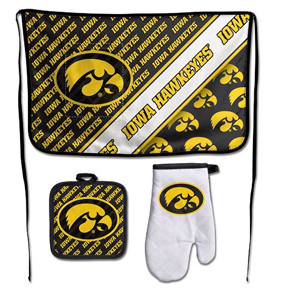 Iowa Hawkeyes Barbeque Set