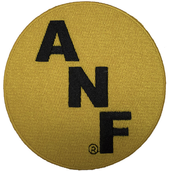 Iowa Hawkeyes ANF Gold Patch