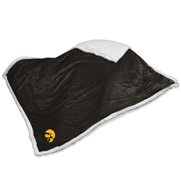 Iowa Hawkeyes Sherpa Wool Blanket