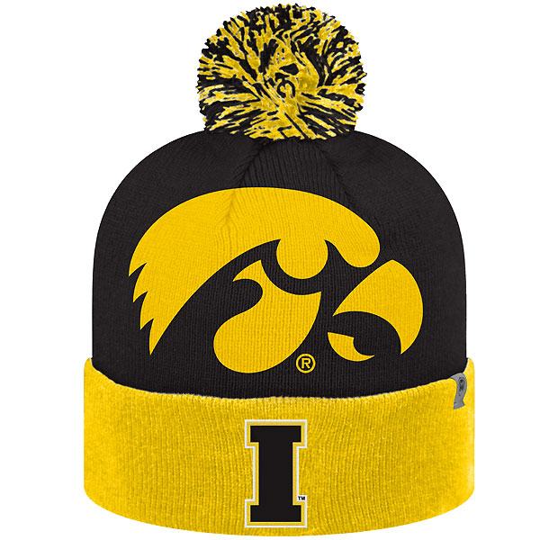 Iowa Hawkeyes Blaster Stocking Cap
