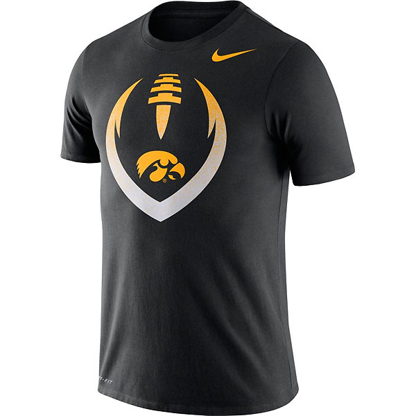 Iowa Hawkeyes Football Icon Tee
