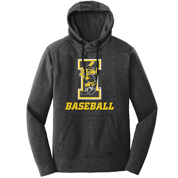 Iowa Hawkeyes Baseball Women's Chain I Batting Herky Hoodie