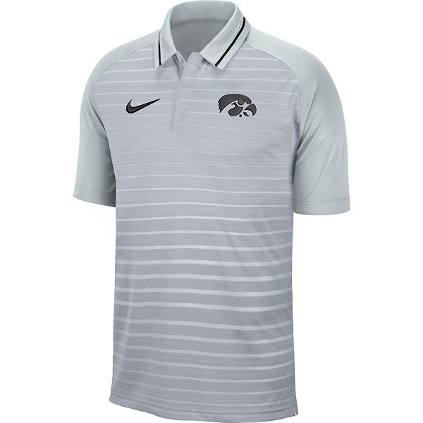 Iowa Hawkeyes Stripe Polo