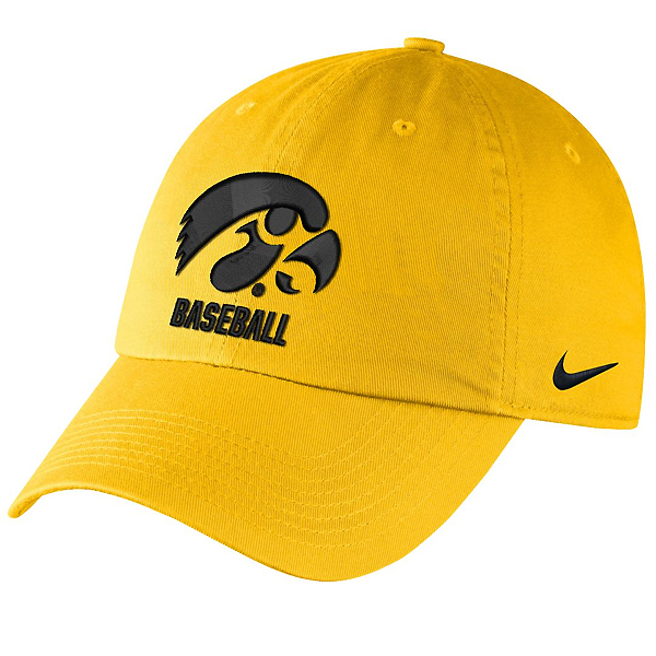 Iowa Hawkeyes Baseball Campus Hat