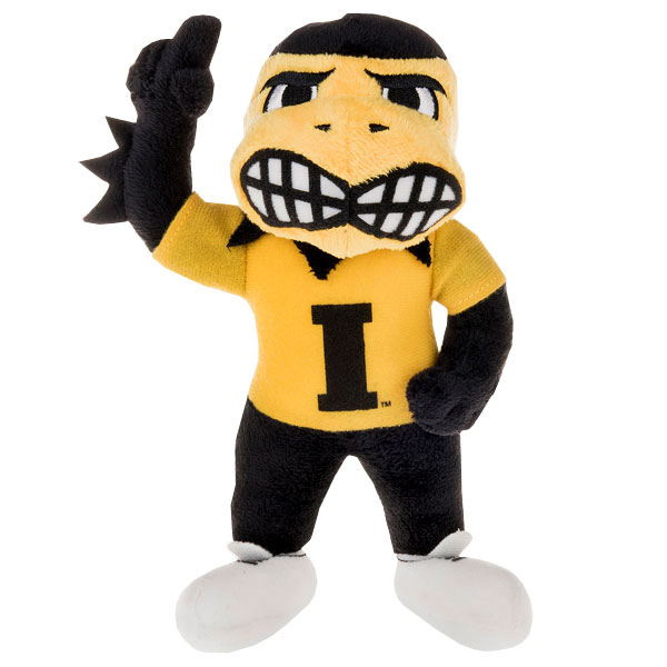 Iowa Hawkeyes Plush Mascot Herky