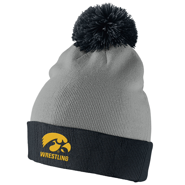 Iowa Hawkeyes Wrestling Stocking Cap