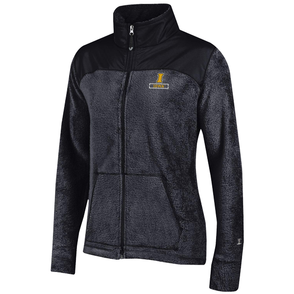 Iowa Hawkeyes Womens Flurry Fleece Jacket