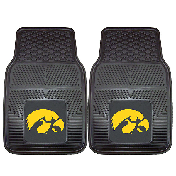 Iowa Hawkeyes Vinyl Car Mat