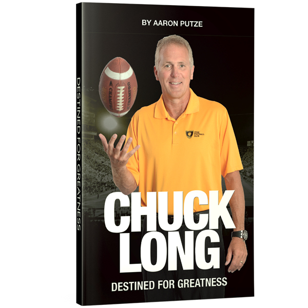 Iowa Hawkeyes Chuck Long Book