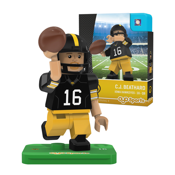 Iowa Hawkeyes CJ Beathard Figure
