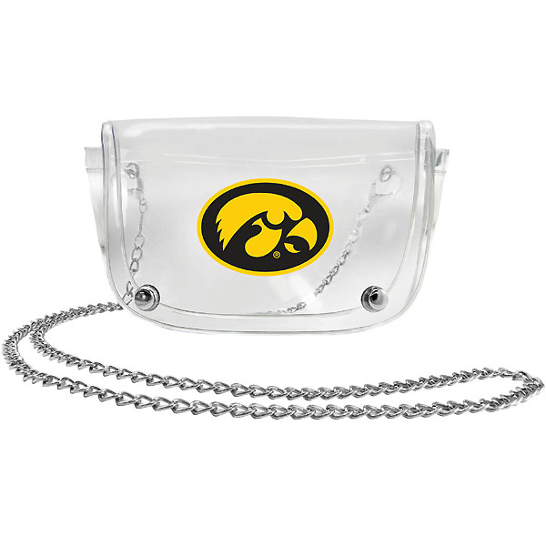 Iowa Hawkeyes Clear Waist Pack