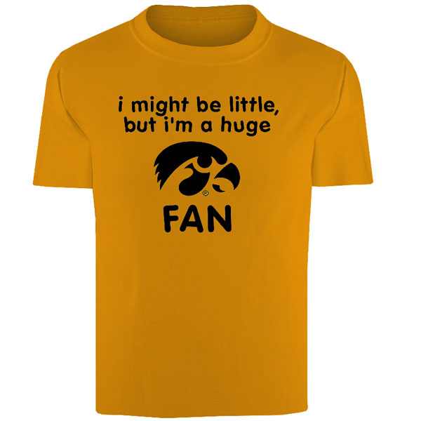 Iowa Hawkeyes Infant Little Fan Tee