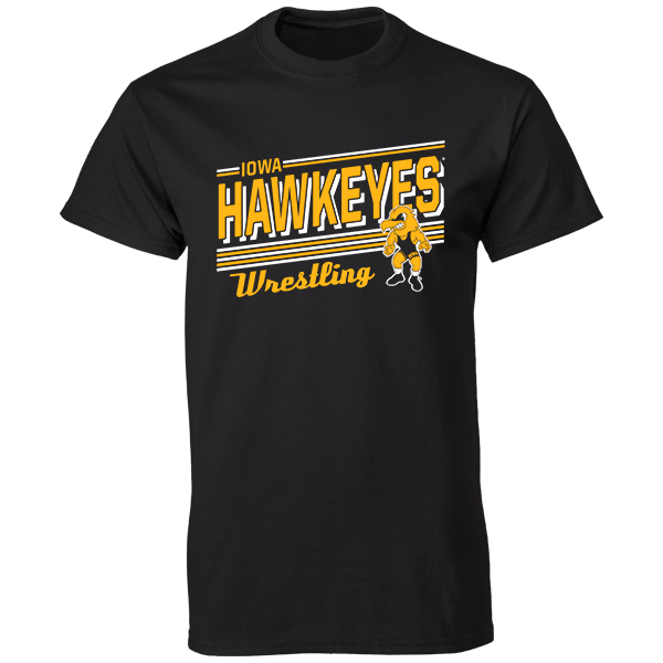 Iowa Hawkeyes Wrestling Tee