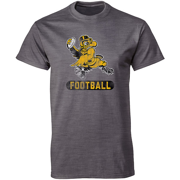 Iowa Hawkeyes Franchise Football Herky Tee