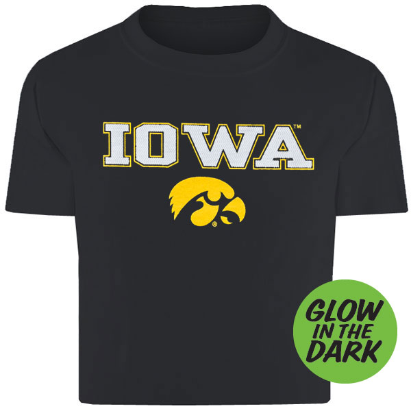 Iowa Hawkeyes Toddler Black Tee