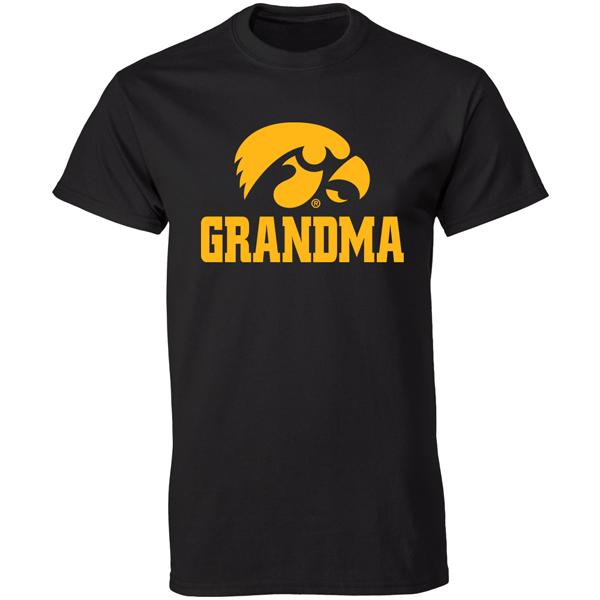 Iowa hawkeyes grandma tee for Hawks t shirt jersey