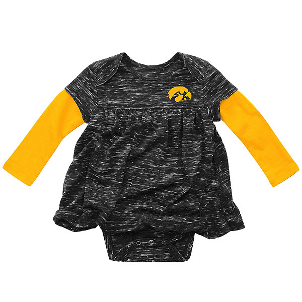 Iowa Hawkeyes Infant Berverly Hill Dress esie