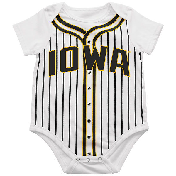 Iowa Hawkeyes Infant Fast Ball Onsie