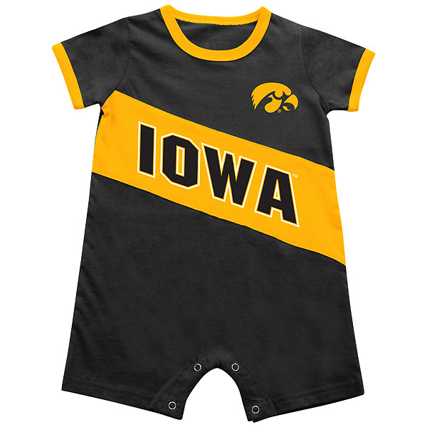 Iowa Hawkeyes Infant Breathtaking Romper