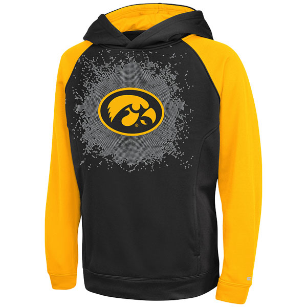 Iowa Hawkeyes Youth Combustion Hoodie