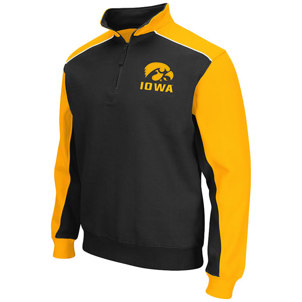 Iowa Hawkeyes Quarter Zip Sweat