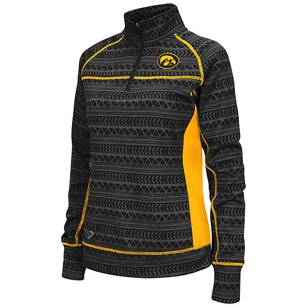 Iowa Hawkeyes Women's Baldwin 1/4 Zip Pullover