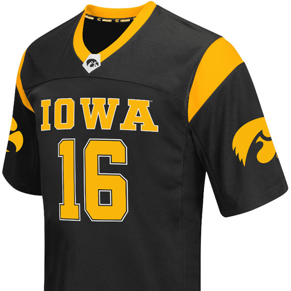 Iowa Hawkeyes Hail Mary Football Jersey