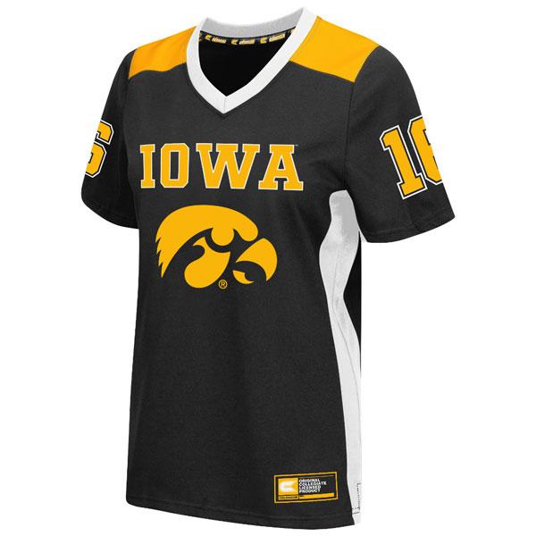 2c1e46118a3 Iowa Hawkeyes Women s Endo Football Jersey