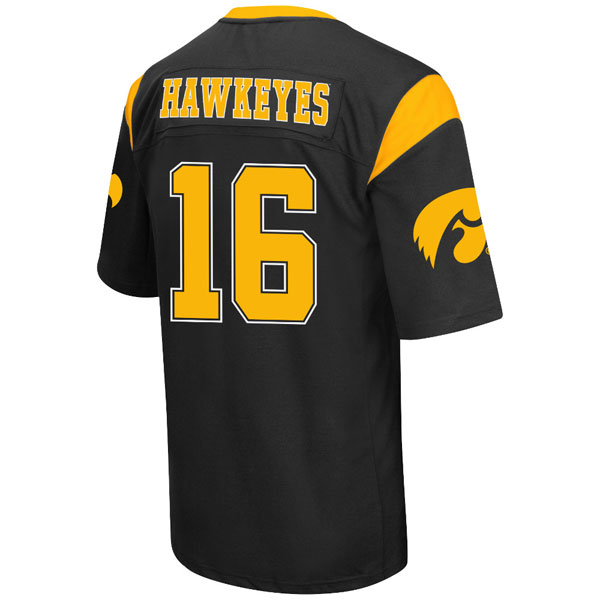 Iowa Hawkeyes Youth Hail Mary Football Jersey