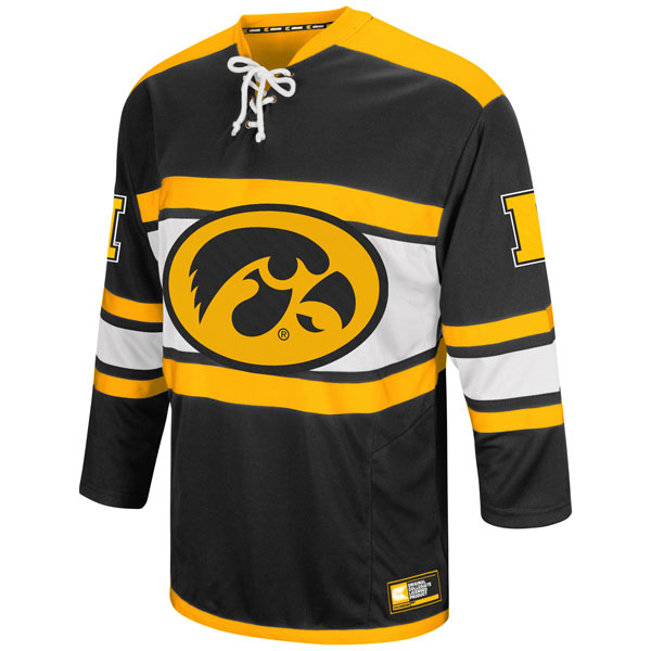 Iowa Hawkeyes Open Net II Hockey Sweater