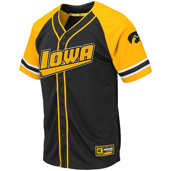 07e1fe757 Iowa Hawkeyes Baseball Jersey