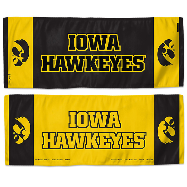 Iowa Hawkeyes Cooling Towel