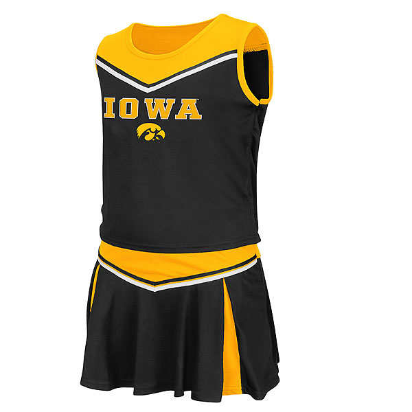 Iowa Hawkeyes Infant Aerial Cheer Set
