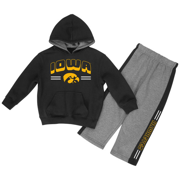 Iowa Hawkeyes Infant Punter Fleece Set